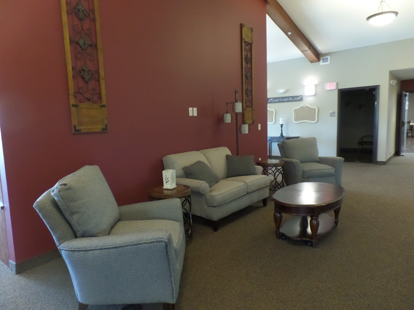 Sitting Area at Serenity Village Avon MN